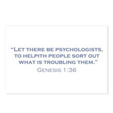 Psychologists / Genesis Postcards (Package of 8)