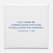 Corrections Officers / Genesis Tile Coaster