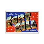 Fort Sill Oklahoma Rectangle Magnet (10 pack)