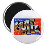 Fort Sill Oklahoma Magnet