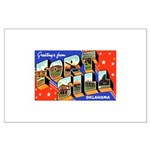 Fort Sill Oklahoma Large Poster