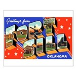 Fort Sill Oklahoma Small Poster