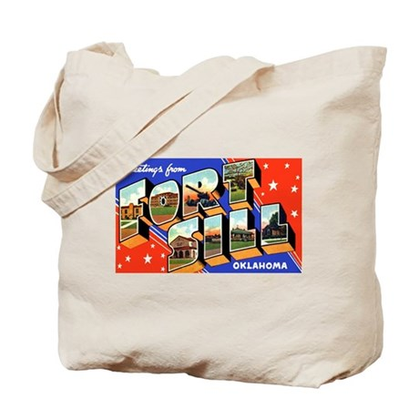 Fort Sill Oklahoma Tote Bag