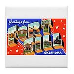 Fort Sill Oklahoma Tile Coaster