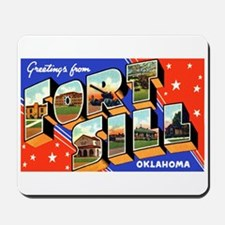 Fort Sill Oklahoma Mousepad