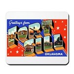 Fort Sill Oklahoma Mousepad