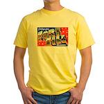 Fort Sill Oklahoma Yellow T-Shirt
