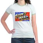 Fort Sill Oklahoma (Front) Jr. Ringer T-Shirt