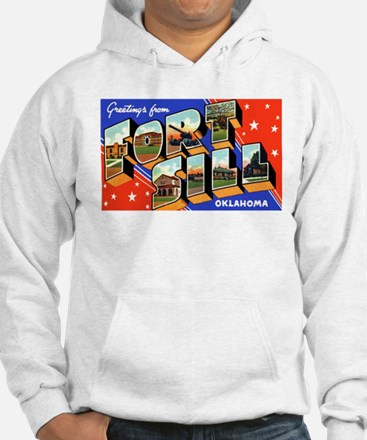 Fort Sill Oklahoma (Front) Hoodie