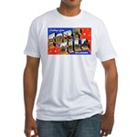 Fort Sill Oklahoma (Front) Fitted T-Shirt