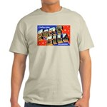 Fort Sill Oklahoma (Front) Ash Grey T-Shirt