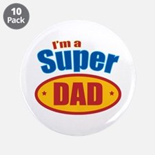 "Super Dad 3.5"" Button (10 pack)"