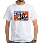 Fort Sill Oklahoma (Front) White T-Shirt