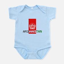 Afghanistan Infant Bodysuit
