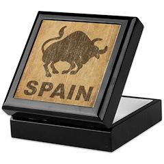 Vintage Spain Keepsake Box