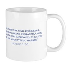 Civil Engineers / Genesis Mug