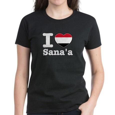 I Love Sanaa Women's Dark T-Shirt