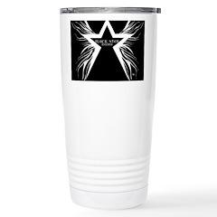 Black Star Radio Black Travel Mug