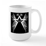 Black Star Radio Black Large Mug