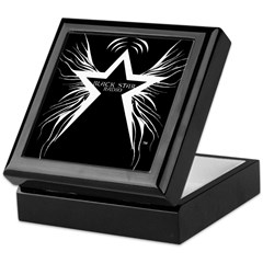 Black Star Radio Black Keepsake Box