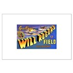Will Rogers Field Oklahoma Large Poster