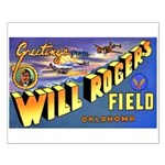 Will Rogers Field Oklahoma Small Poster