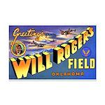 Will Rogers Field Oklahoma Mini Poster Print