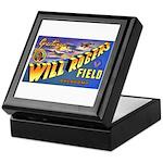 Will Rogers Field Oklahoma Keepsake Box