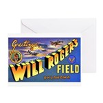 Will Rogers Field Oklahoma Greeting Cards (Package