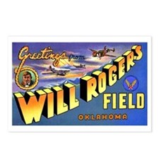 Will Rogers Field Oklahoma Postcards (Package of 8