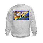 Will Rogers Field Oklahoma (Front) Kids Sweatshirt