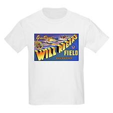 Will Rogers Field Oklahoma Kids T-Shirt