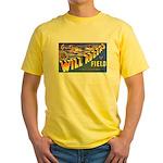 Will Rogers Field Oklahoma Yellow T-Shirt
