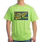 Will Rogers Field Oklahoma Green T-Shirt