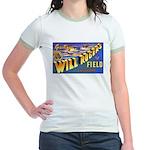 Will Rogers Field Oklahoma Jr. Ringer T-Shirt