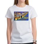 Will Rogers Field Oklahoma (Front) Women's T-Shirt