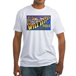 Will Rogers Field Oklahoma (Front) Fitted T-Shirt