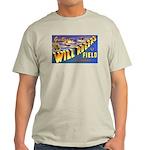Will Rogers Field Oklahoma Ash Grey T-Shirt
