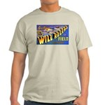 Will Rogers Field Oklahoma (Front) Ash Grey T-Shir
