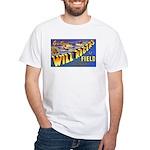 Will Rogers Field Oklahoma White T-Shirt
