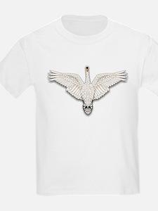 Beadwork Mute Swan T-Shirt