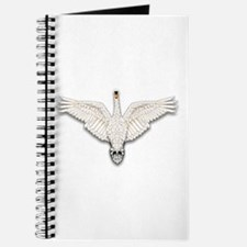 Beadwork Mute Swan Journal