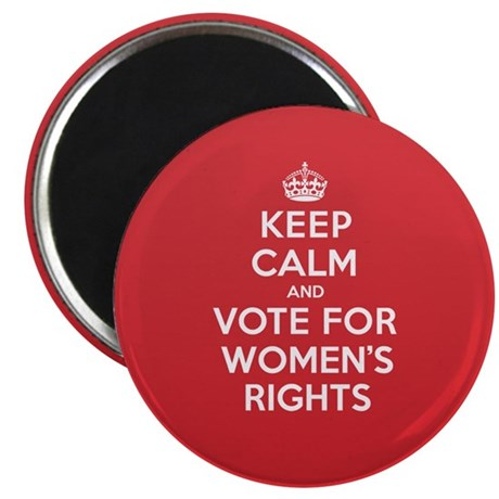 "K C Vote Womens Rights 2.25"" Magnet (10 pack)"