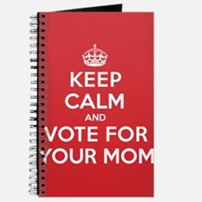 K C Vote Your Mom Journal