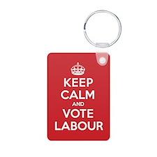 K C Vote Labour Keychains