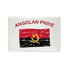 Angolan Pride Rectangle Magnet