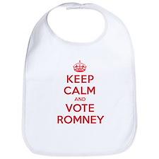 K C Vote Romney Bib