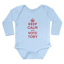 K C Vote Tory Long Sleeve Infant Bodysuit