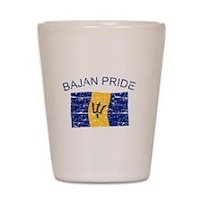 Bajan Pride Shot Glass