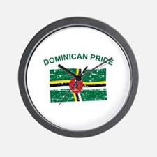 Dominican Pride Wall Clock